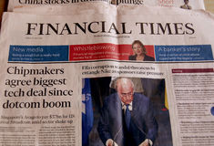 Financial Times Immagini Stock