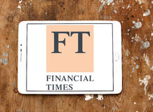 Financial Times logo Obrazy Stock