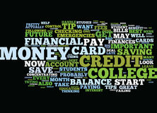 Financial Tips For College Students Text Background  Word Cloud Concept. FINANCIAL TIPS FOR COLLEGE STUDENTS Text Background Word Cloud Concept Stock Photography