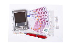 Financial tools Stock Photography