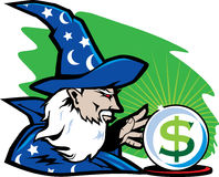 Financial Wizard Stock Photography