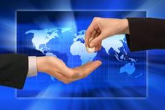 Financial world royalty free stock photos