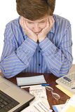 Financial Worries 2nd Revision Stock Images