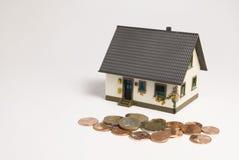 Financiamento da casa Imagens de Stock Royalty Free