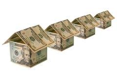 Financiamento de construção da casa Foto de Stock Royalty Free
