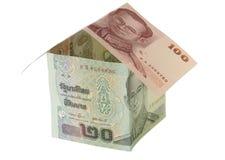 Financiamento do housebuilding Fotografia de Stock Royalty Free