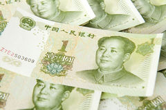 Financiamento do investimento de Renminbi fotos de stock