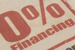 Financiamiento foto de archivo