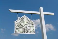 Financiamiento de la casa Imagen de archivo libre de regalías