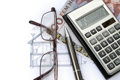 Financiamiento de Real Estate en Suecia imagen de archivo