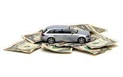Financiamiento del coche Fotografía de archivo