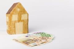 Financiamiento del préstamo hipotecario Foto de archivo libre de regalías
