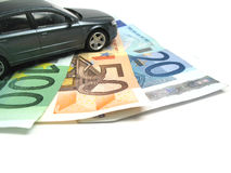 Financiando seu carro Fotografia de Stock
