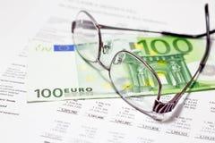 Financie el dinero fotografía de archivo libre de regalías