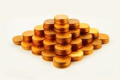 Financie la pirámide Fotografía de archivo libre de regalías