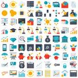 Financie los iconos Imágenes de archivo libres de regalías