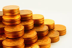 Financie a pirâmide Imagens de Stock Royalty Free