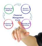 Financieel Beheer Cyclus royalty-vrije stock afbeeldingen