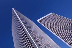 Financieel Centrum Stock Fotografie