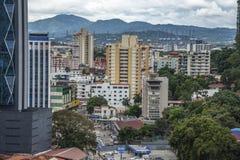 Financieel centrum van de Stad van Panama, Panama royalty-vrije stock afbeeldingen