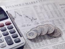 Financieel concept Royalty-vrije Stock Foto's