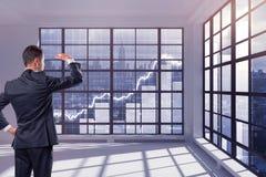 Financieel de groeiconcept Stock Foto's