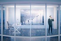 Financieel de groeiconcept Stock Afbeelding