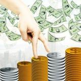 Financieel de groeiconcept vector illustratie