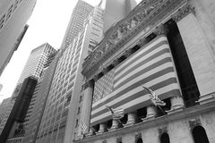 Financieel district royalty-vrije stock afbeelding