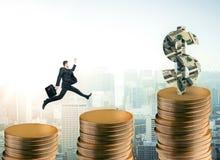 Financieel growtconcept Stock Afbeeldingen