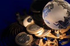 Financieel Mechanisme Stock Foto