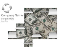 Financieel Ontwerp Webpage Royalty-vrije Stock Foto