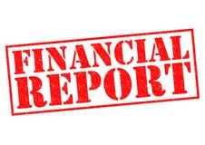 Financieel rapport stock illustratie