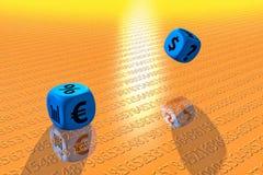 Financieel Spel 2 vector illustratie