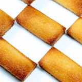 Financier. Details of a french pastry, the financier stock photography