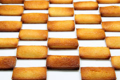 Financier. Details of a french pastry, the financier royalty free stock photography