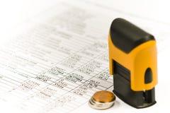 Financier Images stock
