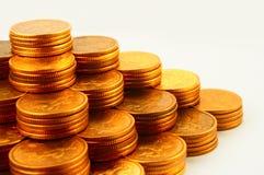 Financier piramide Royalty-vrije Stock Afbeeldingen