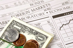 Financiële Markten Stock Afbeelding