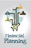 Financiële Planning Stock Afbeelding