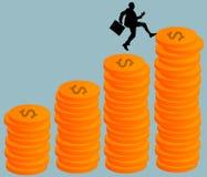 Financiële success Stock Foto's