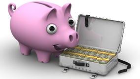 Financiële success Concept Stock Foto