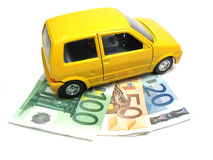 Financing a car Royalty Free Stock Photos