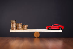 Financing a Car Royalty Free Stock Photo