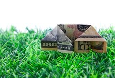 Financing house Stock Images