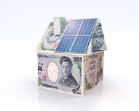Financing for photovoltaic system in japan Royalty Free Stock Images