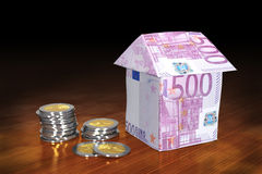 Financing of properties. stock images