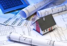 Financing a property Royalty Free Stock Photography