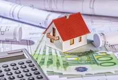 Financing a property Royalty Free Stock Image
