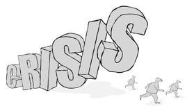 Finanical crisis Stock Image